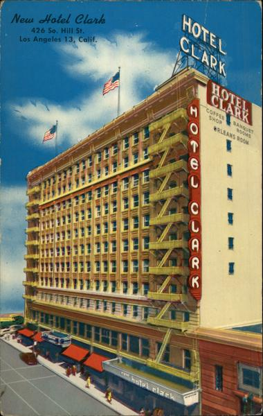 New Hotel Clark Los Angeles California