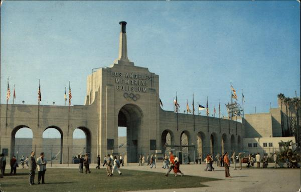 Los Angeles Memorial Coliseum California
