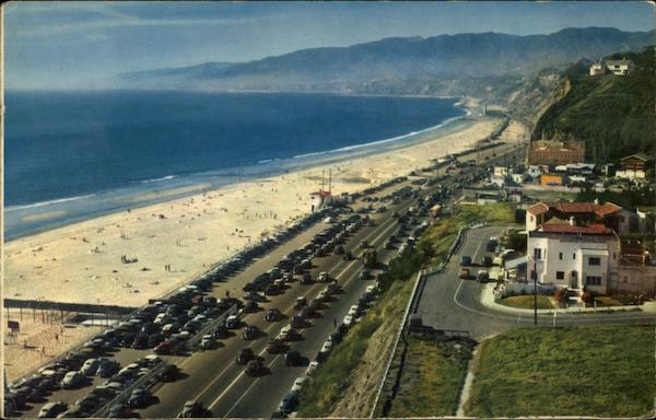 The Coast Highway Santa Monica California Fred Chatworth