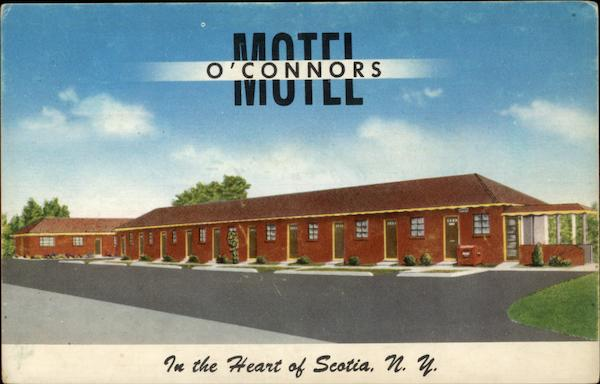 Motel O'Connors - In the Heart of Scotia, N.Y New York