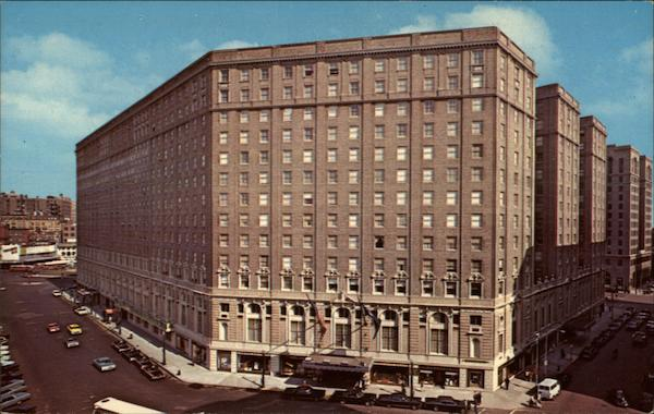 Statler Hilton - Boston Massachusetts