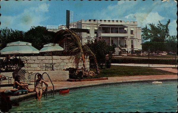 Sam Lord's Castle with swimming pool St. Phillip Barbados
