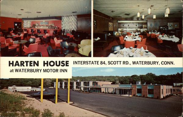 Harten House at Waterbury Motor Inn Connecticut