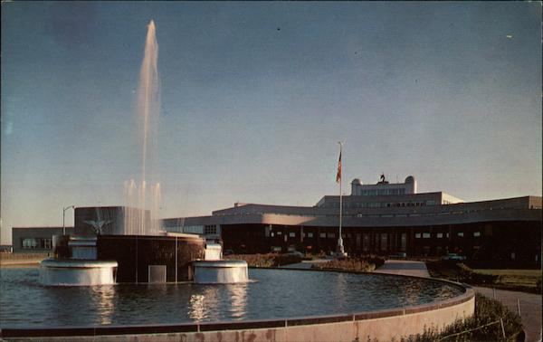 The Fountain at the Airport Pittsburgh Pennsylvania