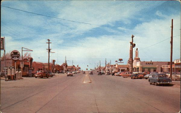 Route 66 Through Shamrock Texas Jerry Hodge