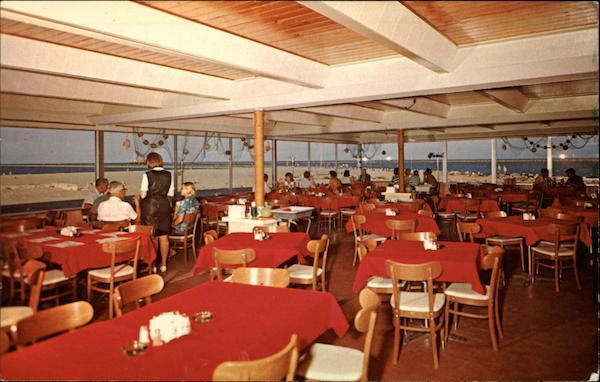 Jetties Restaurant, Gulf of Mexico South Padre Island Texas