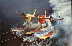 The Famed Aquaballerinas performing at Cypress Gardens