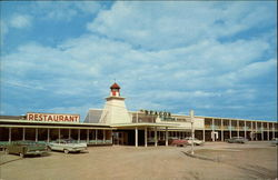 The Beacon Motor Hotel Postcard