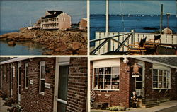 Bearskin Neck Motor Lodge and Gift Shop Postcard