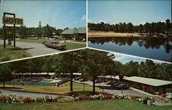 Pine Valley Motel Postcard