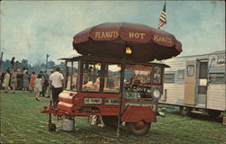 Food cart at the fair