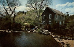 Water Mill on Cape Cod