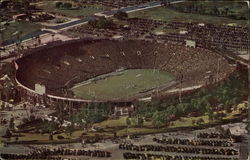 Aerial vIew of the Rose Bowl