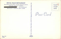 Royal Palm Restaurant