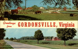 Greetings From Gordonsville, Virginia