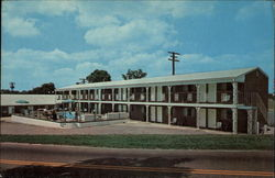 The Continental Motel and Lobster House Restaurant Postcard
