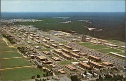 Aerial view of Fort Gordon