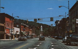 Liberty Street in Franklin, Pennsylvannia