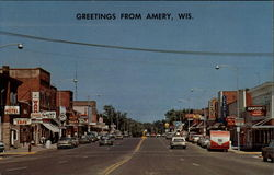 Greetings from Amery, Wis