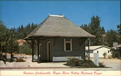 Historic Jacksonville, Rogue River Valley Railroad Depot