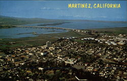 Aerial View of Martinez
