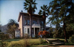 A beautiful view of the historical John Muir home, the famed California naturalist
