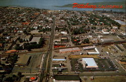 Aerial view of Pittsburg, California
