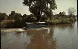 Houseboat on the river