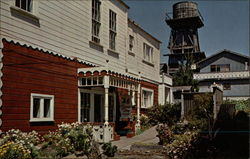 Buildings in Mendocino
