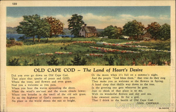 Old Cape Cod The Land of Heart's Desire Massachusetts