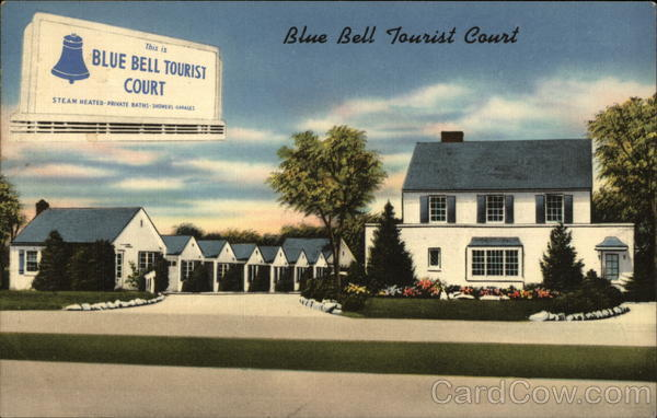 Blue Bell Tourist Court Aberdeen Maryland