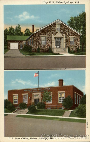 City Hall and U.S. Post Office Heber Springs Arkansas