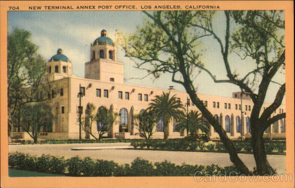 New Terminal Annex Post Office Los Angeles California