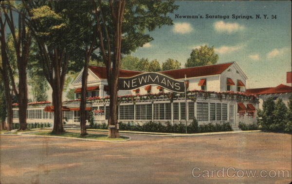 Newman's Saratoga Springs New York