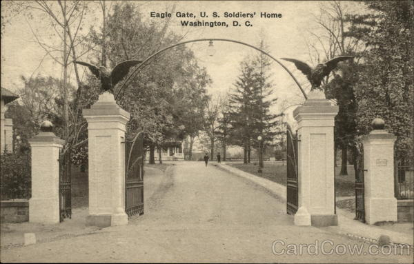 Eagle Gate, U.S. Soldiers' Home Washington District of Columbia