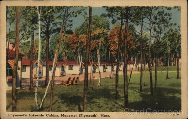Raymon'd0s Lakeside Cabins, Manomet Pymouth Massachusetts