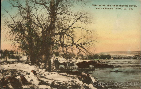 Winter on the Shenandoah River Charles Town West Virginia