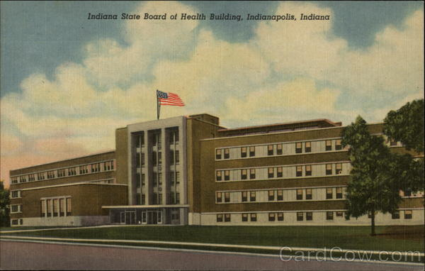 Indiana State Board of Health Building Indianapolis