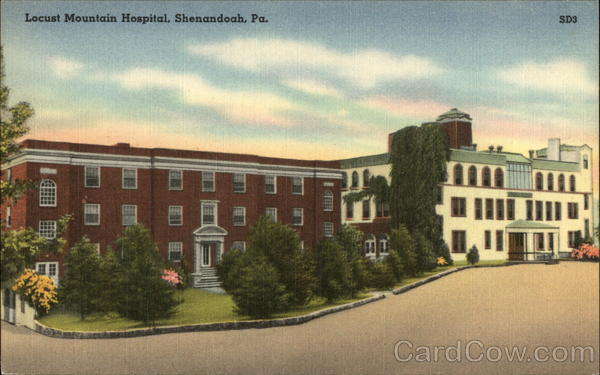 Locust Mountain Hospital Shenandoah Pennsylvania