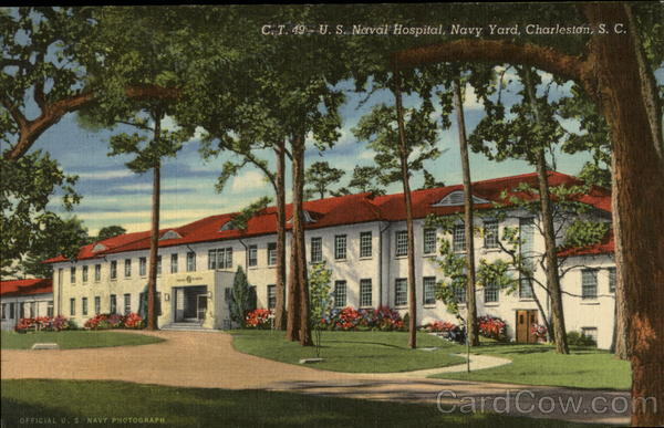 U.S.Naval Hospital, Navy Yard Charleston South Carolina