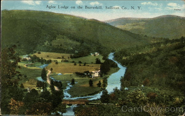 Agloe Lodge on the Beaverkill Sullivan Co New York