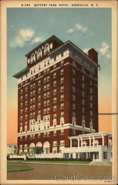 Battery Park Hotel Asheville North Carolina