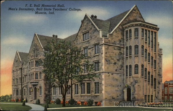 Ball State Teachers' College Muncie Indiana