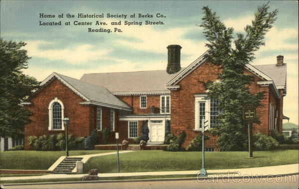 What Is My Paypal Email >> Home of the Historical Society of Berks Co Reading, PA
