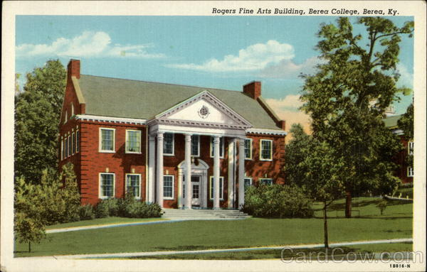 Rogers Fine Arts Building, Berea College Kentucky