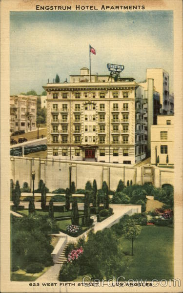 Engstrum Hotel Apartments Los Angeles California