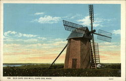 Old Cape Cod Mill Postcard