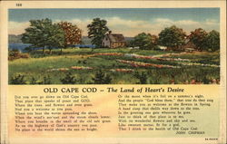 Old Cape Cod The Land of Heart's Desire