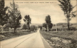 View Along Historic Cherry Valley Turnpike