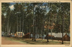 Fish Creek State Camping Grounds, Adirondack Mts
